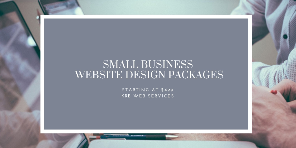 Small Business Website Design Packages | KRB Web Services
